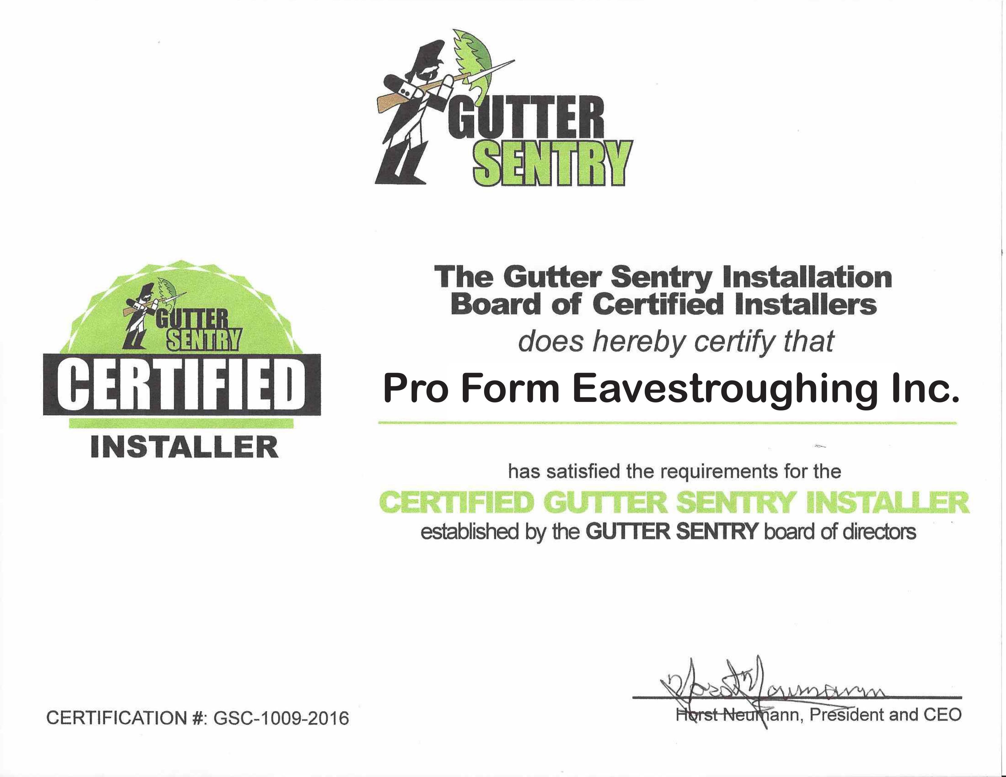 Gutter-Sentry